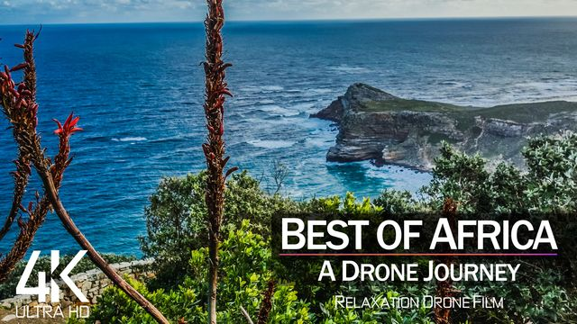 【4K】West Africa from Above | 10 COUNTRIES 2021 | Cinematic Wolf Aerial™ Ultra HD Drone Film