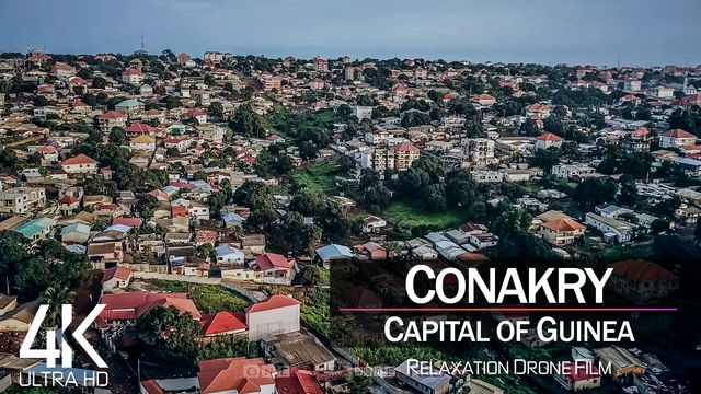 【4K】Conakry from Above   Capital of GUINEA 2021   Cinematic Wolf Aerial™ Drone Film
