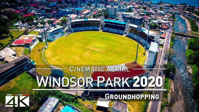 【4K】Drone Footage | WINDSOR PARK STADIUM Dominica ..:: Spectacular Arenas 2019