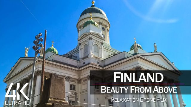 【4K】| HELSINKI from Above 2021 | Finland Cinematic Wolf Aerial™ Drone Film | 859