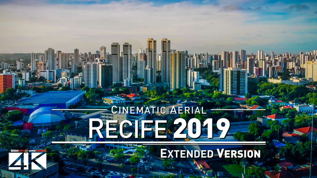 【4K】Drone Relax Travel Video | RECIFE ..:: Capital of Pernambuco 2019