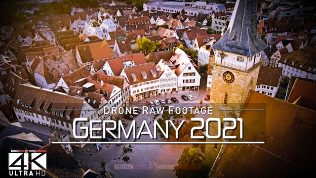 【4K】Drone RAW Footage | This is GERMANY 2021 | Berlin and More | UltraHD Stock Video