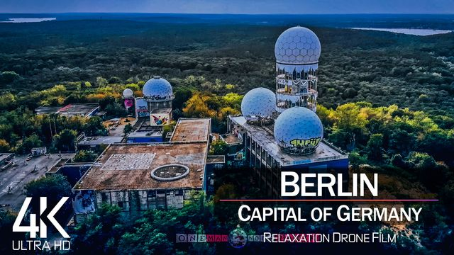 【4K】Teufelsberg from Above | BERLIN 2021 | Germany Cinematic Wolf Aerial™ Drone Film