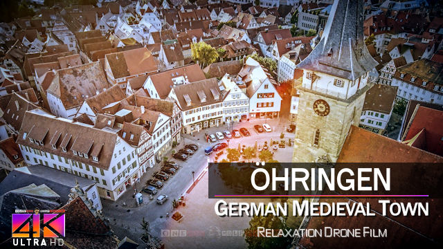【4K】Oehringen from Above | GERMANY 2021 | Cinematic Wolf Aerial™ Drone Film