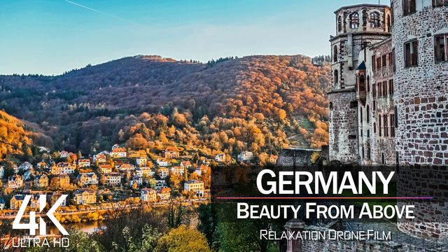 【4K】| GERMANY from Above 2021 | Cinematic Wolf Aerial™ Drone Film