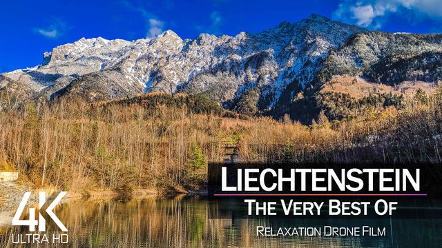 【4K】¼ HOUR DRONE FILM: «The Beauty of Liechtenstein 2021» | Ultra HD | Chillout (Ambient TV)