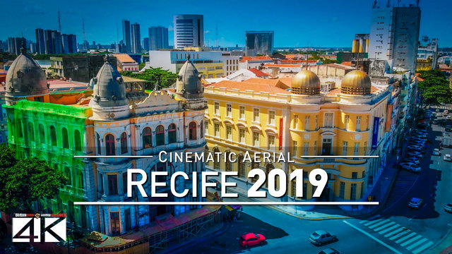 【4K】Drone Footage | RECIFE ..:: Capital of Pernambuco 2019
