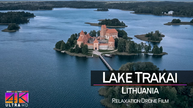 【4K】Lake Trakai from Above | LITHUANIA 2021 | Cinematic Wolf Aerial™ Drone Film