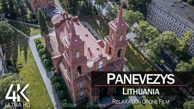 【4K】Panevezys from Above | LITHUANIA 2021 | Cinematic Wolf Aerial™ Drone Film