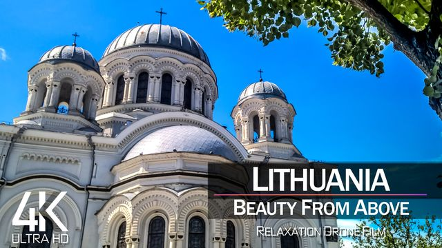 【4K】| LITHUANIA from Above 2021 | Cinematic Wolf Aerial™ Drone Film | 876
