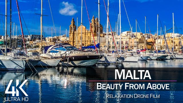 【4K】| MALTA from Above 2021 | Cinematic Wolf Aerial™ Drone Film | 878