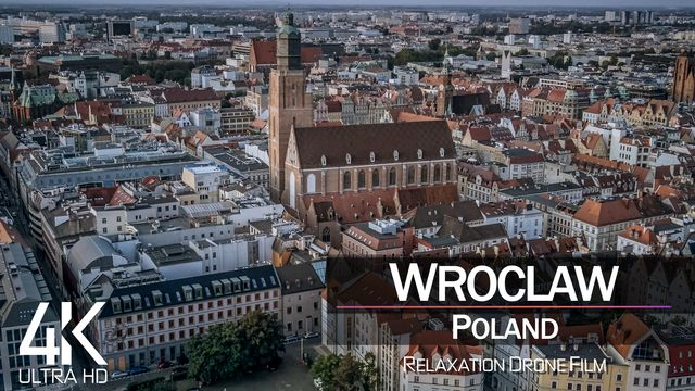 【4K】Wroclaw from Above | POLAND 2021 | Cinematic Wolf Aerial™ Drone Film
