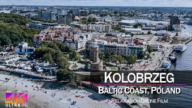 【4K】Kolobrzeg from Above | POLAND 2021 | Cinematic Wolf Aerial™ Drone Film