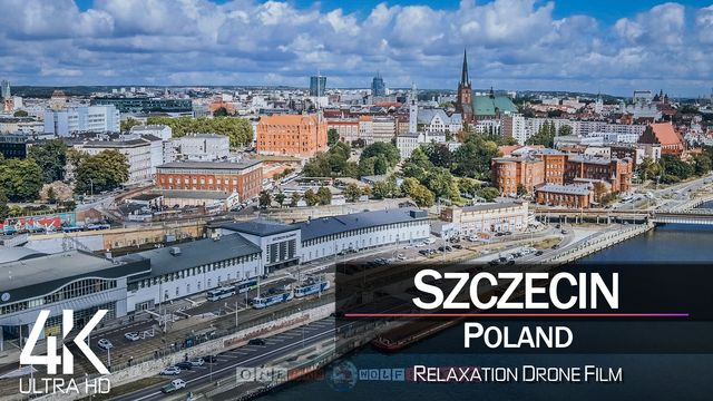 【4K】Szczecin from Above | POLAND 2021 | Cinematic Wolf Aerial™ Drone Film
