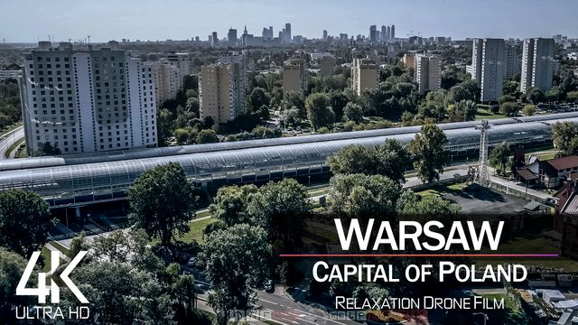 【4K】Warsaw from Above | Capital of POLAND 2021 | Cinematic Wolf Aerial™ Drone Film