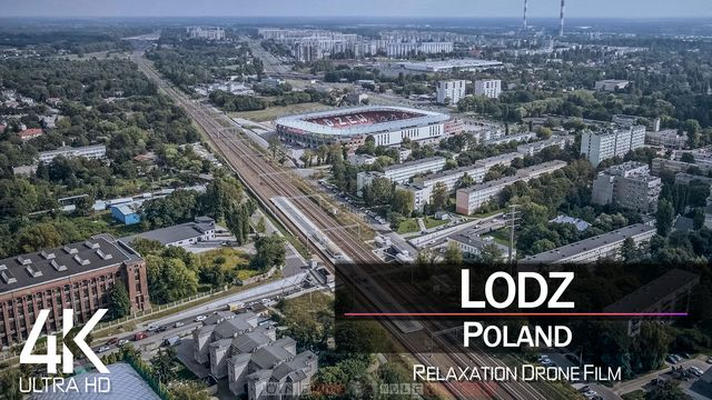 【4K】Lodz from Above | POLAND 2021 | Cinematic Wolf Aerial™ Drone Film