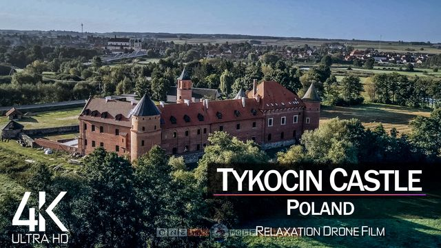 【4K】Tykocin Castle from Above | POLAND 2021 | Cinematic Wolf Aerial™ Drone Film