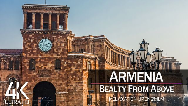 【4K】| YEREVAN from Above 2021 | Armenia Cinematic Wolf Aerial™ Drone Film | 890