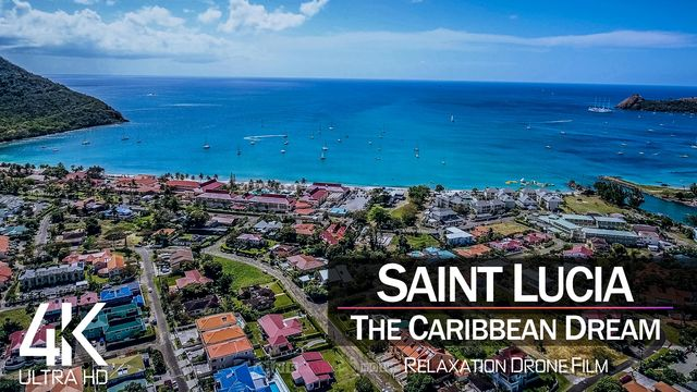 【4K】| SAINT LUCIA from Above 2021 | Cinematic Wolf Aerial™ Drone Film