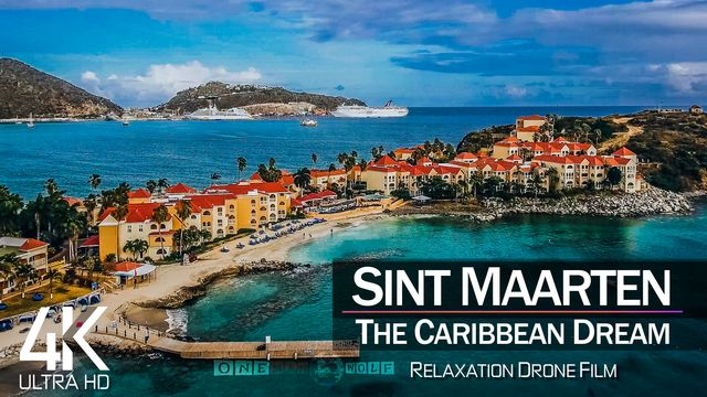 【4K】| SINT MAARTEN from Above 2021 | Cinematic Wolf Aerial™ Drone Film | 895