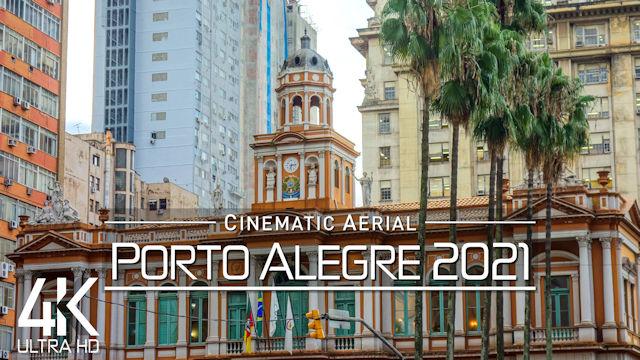 【4K】Porto Alegre from Above | BRAZIL 2021 | Cinematic Wolf Aerial™ Drone Film