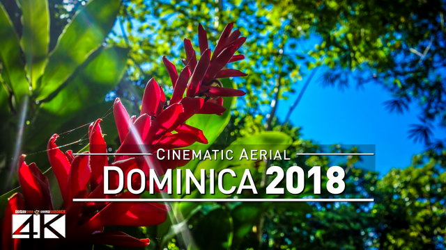 4K Drone Footage: 1 Minute in... DOMINICA [DJI Phantom 4]