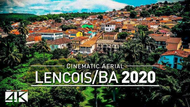【4K】Drone Footage | LENCOIS Bahia ..:: Former Diamond-Mining Town Brazil 2019