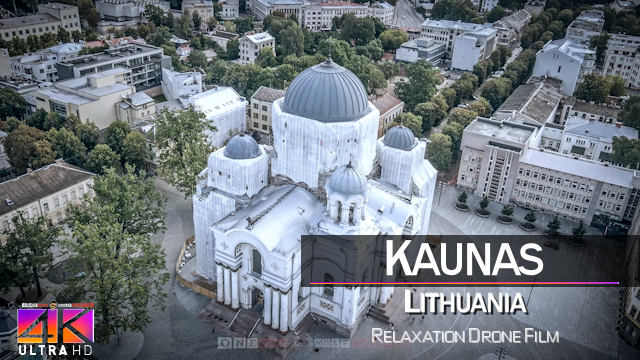 【4K】Kaunas from Above | LITHUANIA 2021 | Cinematic Wolf Aerial™ Drone Film