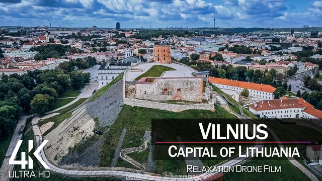 【4K】Vilnius from Above | Capital of LITHUANIA 2021 | Cinematic Wolf Aerial™ Drone Film