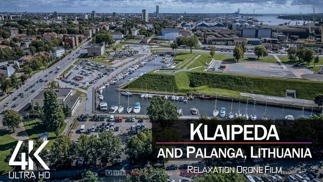 【4K】Klaipeda from Above | LITHUANIA 2021 | Cinematic Wolf Aerial™ Drone Film