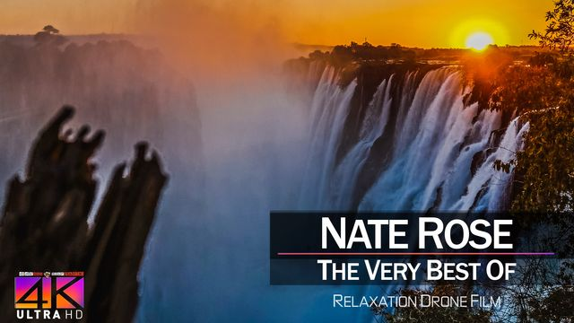 【4K】DRONE MUSIC TV VIDEO: | «The Best Tracks of NATE ROSE» |