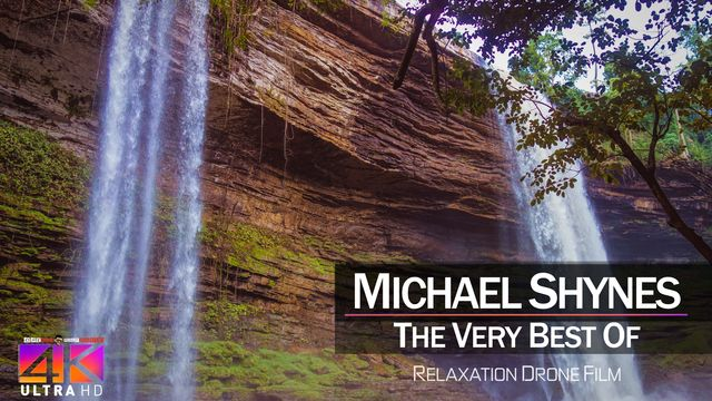 【4K】DRONE MUSIC TV VIDEO: | «The Best Tracks of MICHAEL SHYNES» |