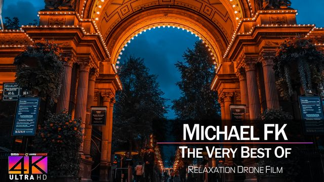 【4K】DRONE MUSIC TV VIDEO: | «The Best Tracks of MICHAEL FK» |