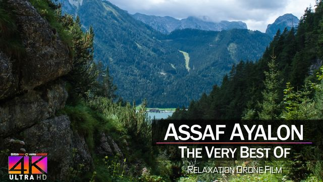 【4K】DRONE MUSIC TV VIDEO: | «The Best Tracks of ASSAF AYALON» |