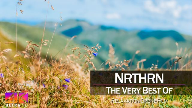 【4K】DRONE MUSIC TV VIDEO: | «The Best Tracks of NRTHRN» |