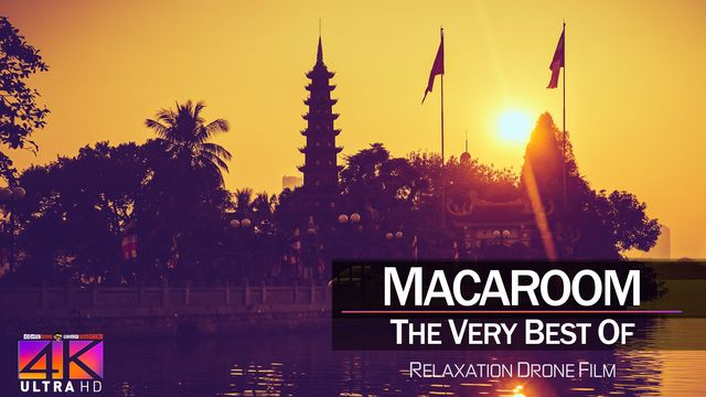 【4K】DRONE MUSIC TV VIDEO: | «The Best Tracks of MARACOOM» |