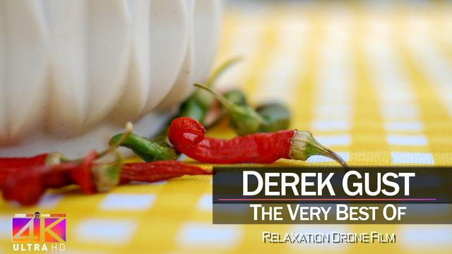 【4K】DRONE MUSIC TV VIDEO: | «The Best Tracks of DEREK GUST» |