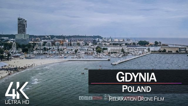 【4K】Gdynia from Above | POLAND 2021 | Cinematic Wolf Aerial™ Drone Film