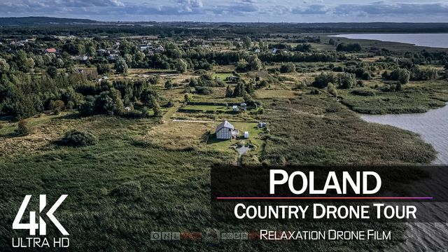 【4K】¾ HOUR DRONE FILM: «The Nature of Poland» | Ultra HD | Chillout (for 2160p Ambient UHD TV)
