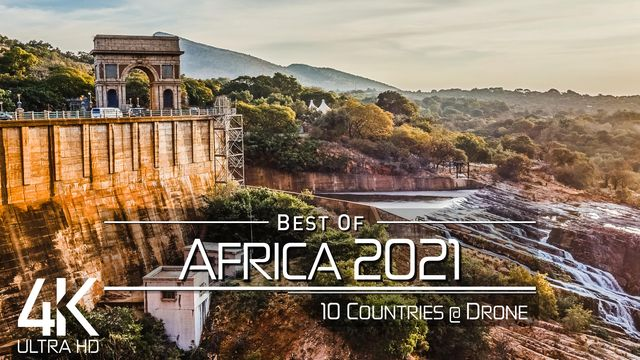 【4K】The Beauty of AFRICA in 29 Minutes 2021 | Ultra HD | Chillout Music (2160p Ambient UHD TV)