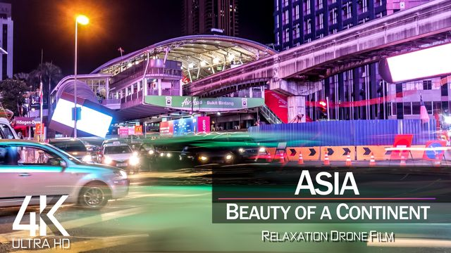 【4K】ASIA as you have never seen before 2021 | 15 COUNTRIES | Cinematic Aerial | Drone Film™