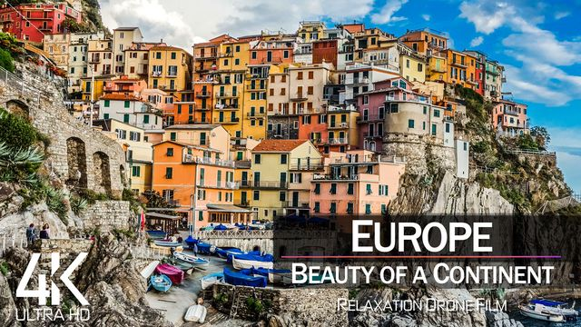【4K】EUROPE as you have never seen before 2021 | 30 COUNTRIES | Cinematic Aerial | Drone Film™