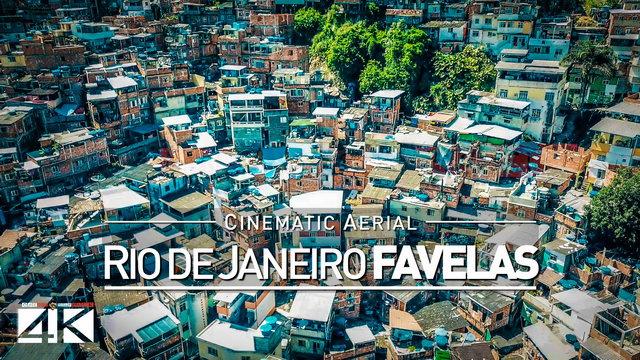【4K】Drone Footage | Rio de Janeiro FAVELAS 2019 ..:: Cidade Maravilhosa do Brasil