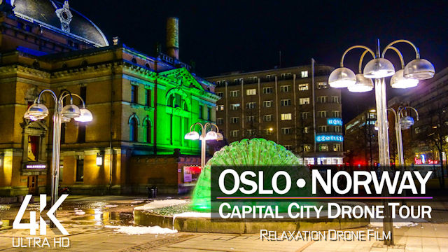【4K】Oslo from Above | Capital City of NORWAY 2021 | Cinematic Wolf Aerial™ Drone Film