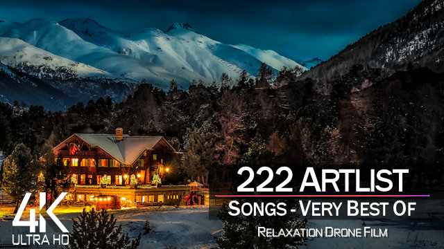 【4K】MUSIC VIDEO: | «The 222 Best Songs of Artlist» | Planet Earth in 12 Hours |