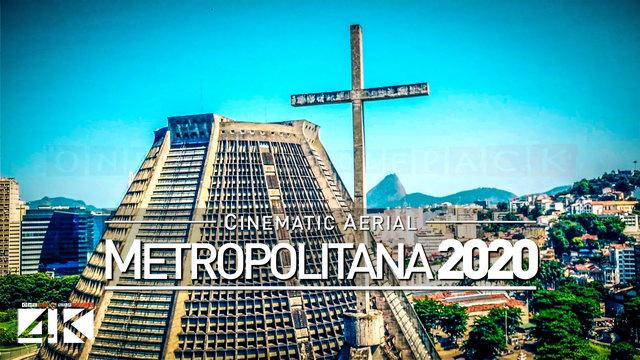 【4K】Drone Footage | CATEDRAL METROPOLITANA Rio de Janeiro ..:: Brazil 2019