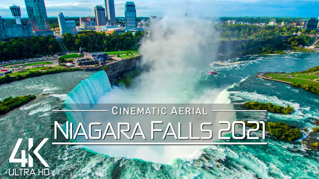 【4K】Niagara Falls from Above | CANADA / UNITED STATES 2021 | Cinematic Wolf Aerial™ Drone Film