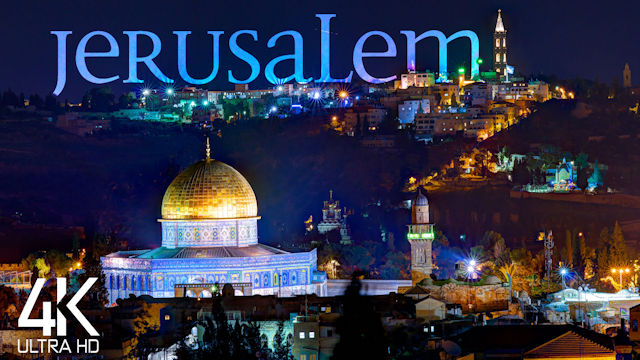【4K】Jerusalem from Above | ISRAEL 2021 | Cinematic Wolf Aerial™ Drone Film