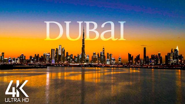【4K】Dubai from Above | UNITED ARAB EMIRATES 2021 | Cinematic Wolf Aerial™ Drone Film