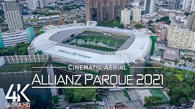 【4K】Allianz Parque from Above | BRAZIL 2021 | Palmeiras Sao Paulo Cinematic Wolf Aerial™ Drone